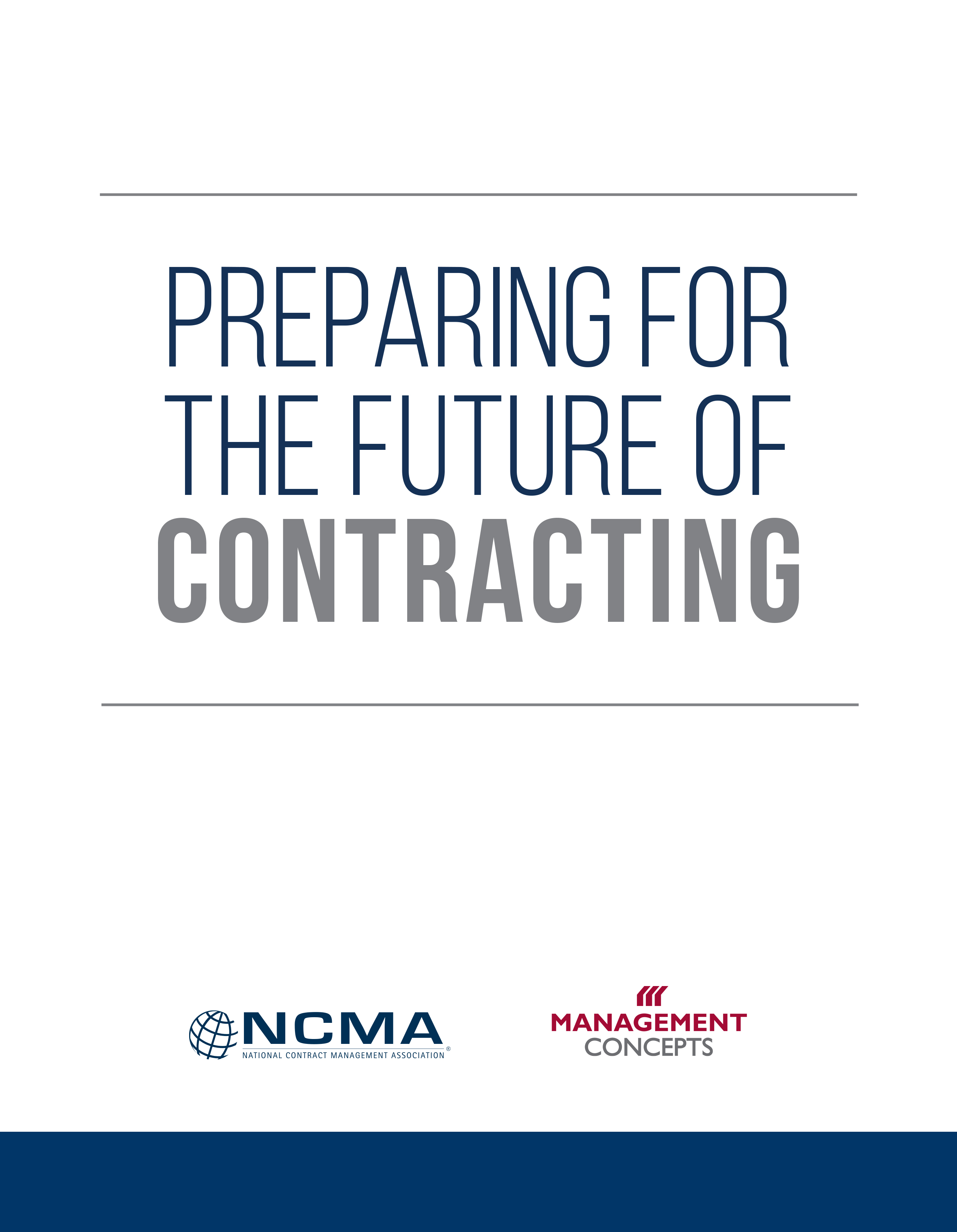 Future of Contracting