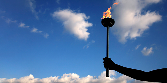 Lighting the Torch; Carrying the Flame